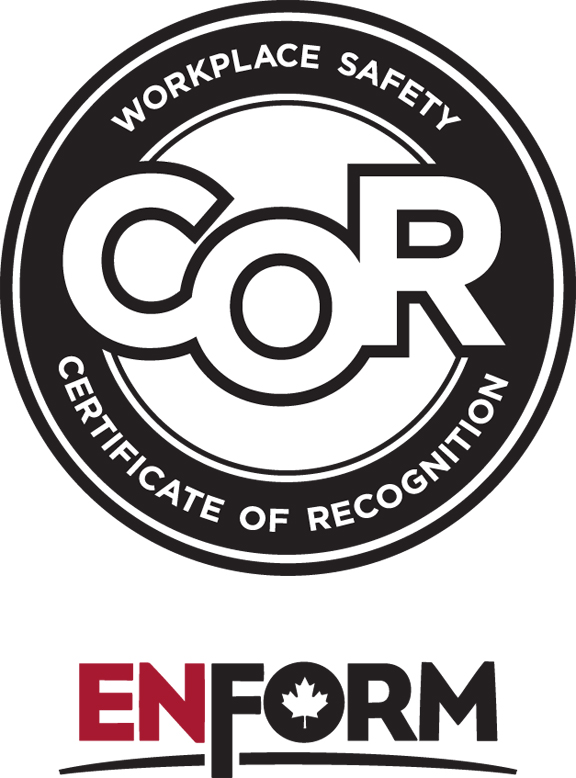 ENFORM Certificate of Recognition